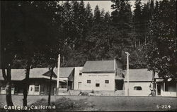 Depot and Saloon Postcard