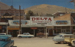 The Old Delta Saloon and Gambling Palace Postcard