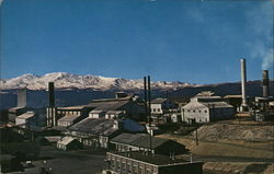 Large Ore Reduction Mill Postcard