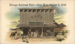 Chicago Railroad Fair - June 25 to October 2, 1949