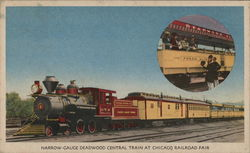 Narrow Gauge Deadwood Central Train