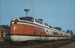 Turbotrain Postcard