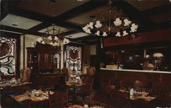 Hyatt Regency Chicago - Mrs. O'Leary's Restaurant Postcard
