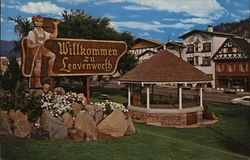 Leavenworth Washington Welcome Sign