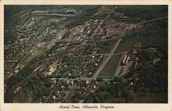 Aerial View of Town