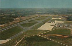 Aerial View of Greenville-Spartanburg Airport Postcard