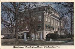 Mississippi County Courthouse, Erected 1919
