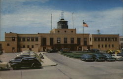 Administration Building, Municipal Air Terminal Postcard