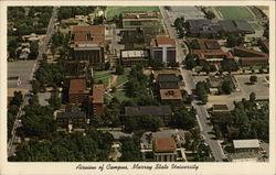 Murray State University - Aerial View of Campus Postcard