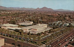 Civic Center, Aerial View