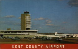 Kent County Airport Postcard