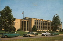 County City Building Postcard