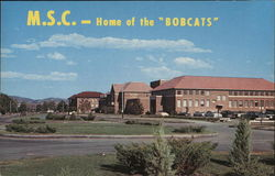 "M.S.C.- Home of the ""Bobcats"""