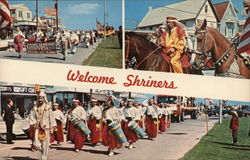 Welcome Shriners - Three Photos of Parade