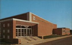 High School Auditorium Postcard