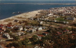 View of Highlands, N.J., and Sandy Hook