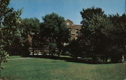 Blackburn College - Stoddard Hall Postcard