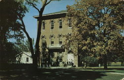 Blackburn College - Robertson Hall Postcard