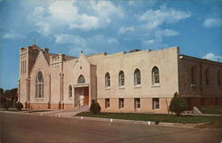 Center Street Methodist Church Postcard