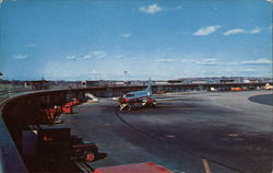 Logan Airport Postcard
