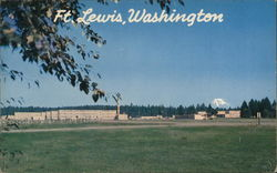 Ft. Lewis, Washington Postcard
