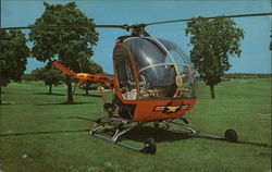 The Hughes TH-55A Helicopter