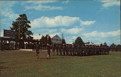 Graduation Parade Fort Jackson, SC Postcard