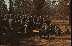 Field Training Fort Jackson, SC Postcard