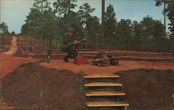 Record Firing Fort Jackson, SC Postcard