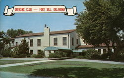 Officers Club Postcard