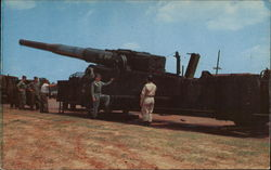 "280 MM-""Atomic Cannon"" Fort Bragg"