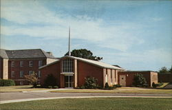 The Chapel Veterans Administration Hospital Postcard