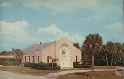 Island Baptist Church, Manatee County Postcard