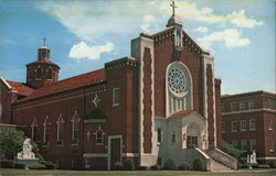 Our Lady of the Angels Convent Chapel Postcard