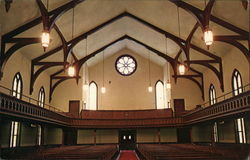 View from Chancel, The First Congregational Church