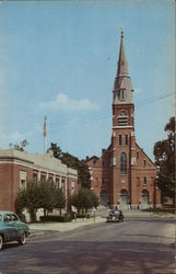 Post Office and St. Francis R.C. Church