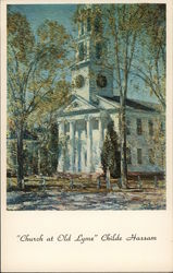 """Church at Old Lyme"" Childe Hassam"