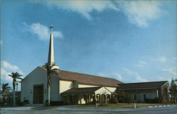 Community United Presbyterian Church Postcard