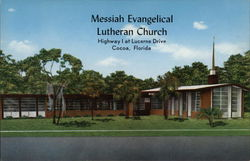 Messiah Evangelical Lutheran Church Postcard