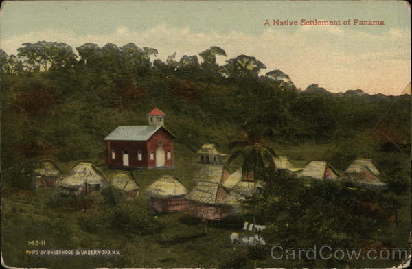 A Native Settlement of Panama