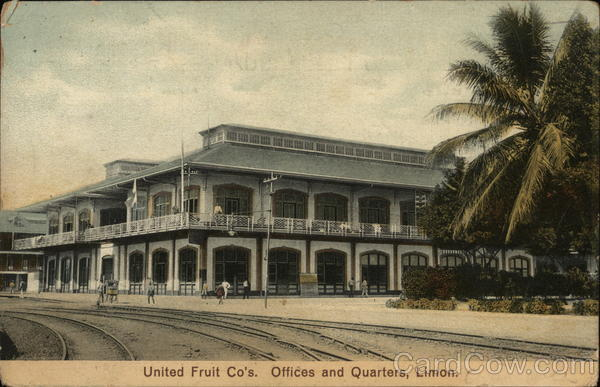 United Fruit Co's Offices and Quartiers, Limon. Costa Rica