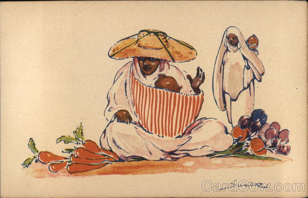 Arab Vegetable Seller (North Africa)