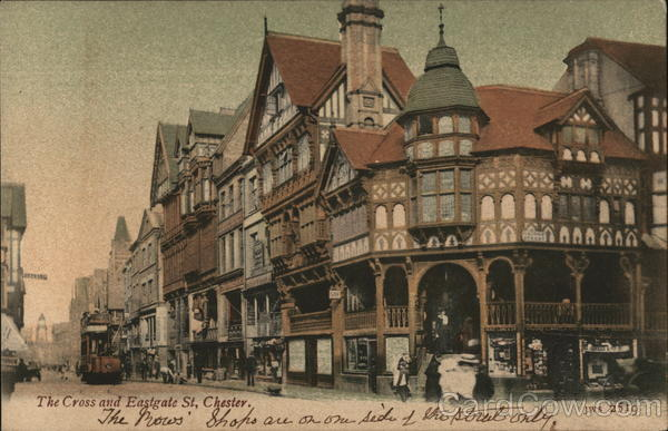 The Cross and Eastgate St. Chester England Cheshire