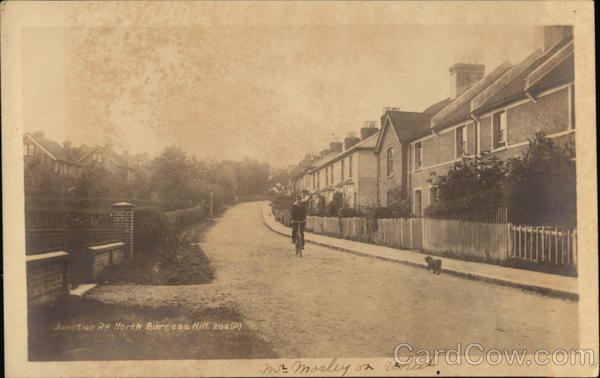 Junction Road North Burgess Hill England Sussex