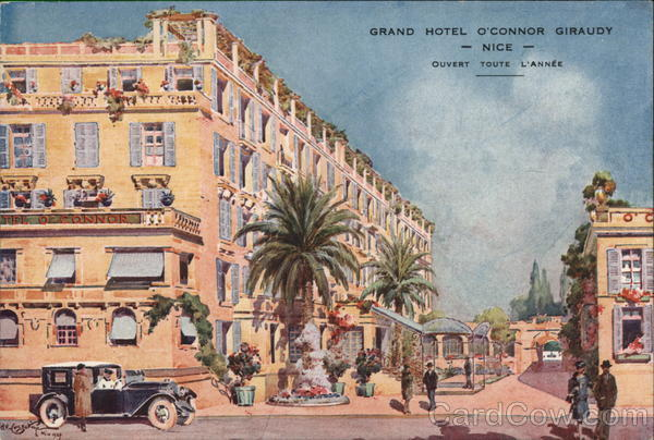 Grand Hotel O'Connor Giraudy Nice France
