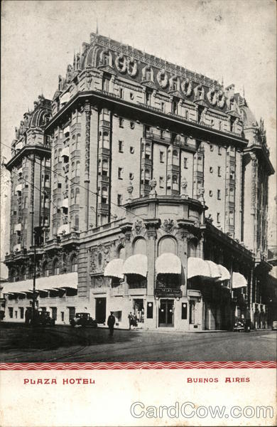 Plaza Hotel Buenos Aires Argentina
