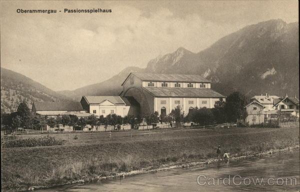 Oberammergau - Passionsspielhaus