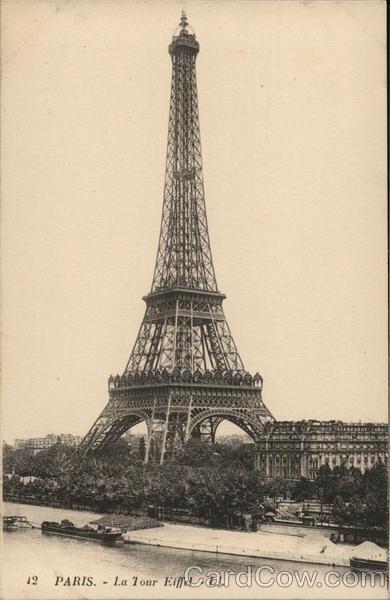 12 Paris - Eiffel Tower - LL