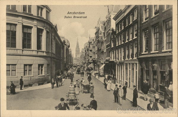 Joden Breestraat Amsterdam Netherlands Benelux Countries