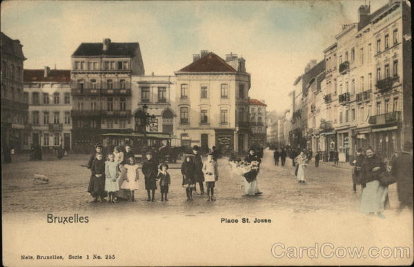 Place St. Josse Brussels Belgium Benelux Countries